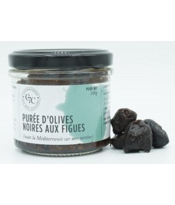 Purée d'olives noires aux...